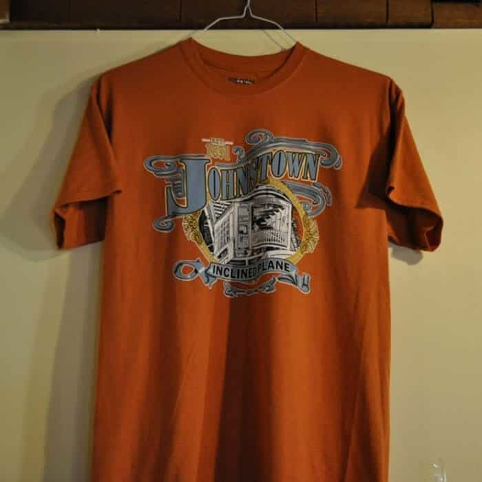 Johnstown Inclined Plane T-Shirt, Orange