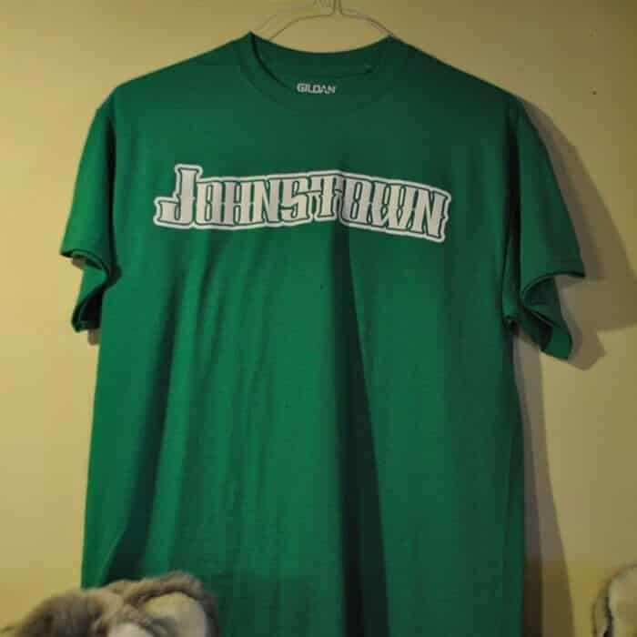 Johnstown Inclined Plane T-Shirt, Forest Green