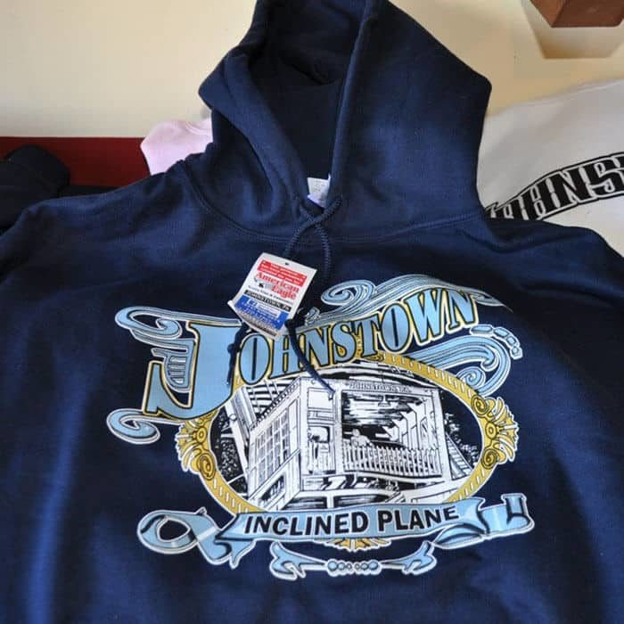 Johnstown Inclined Plane Adult Hoodie